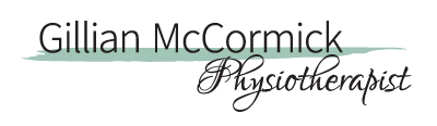 Gillian McCormick, Physiotherapist Logo